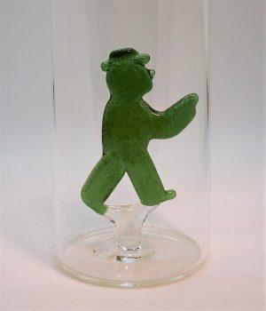 Domglas-Ampelmännchen-grün-detail