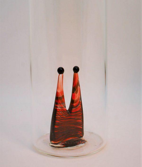bunter Dom aus Glas im Kölschglas