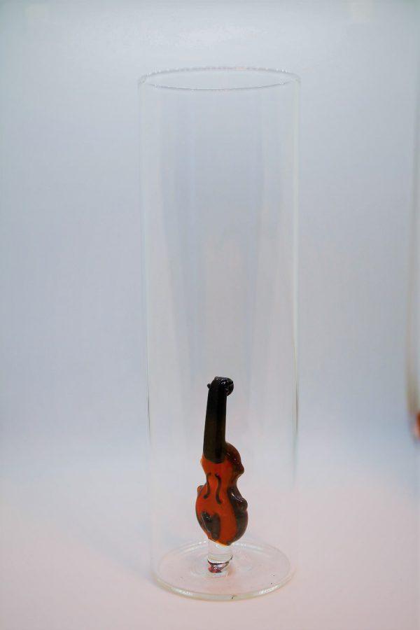 Domglas-Geige-Seite