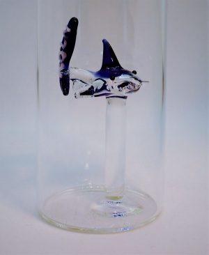 Domglas-Hai-blau-Köln-detail