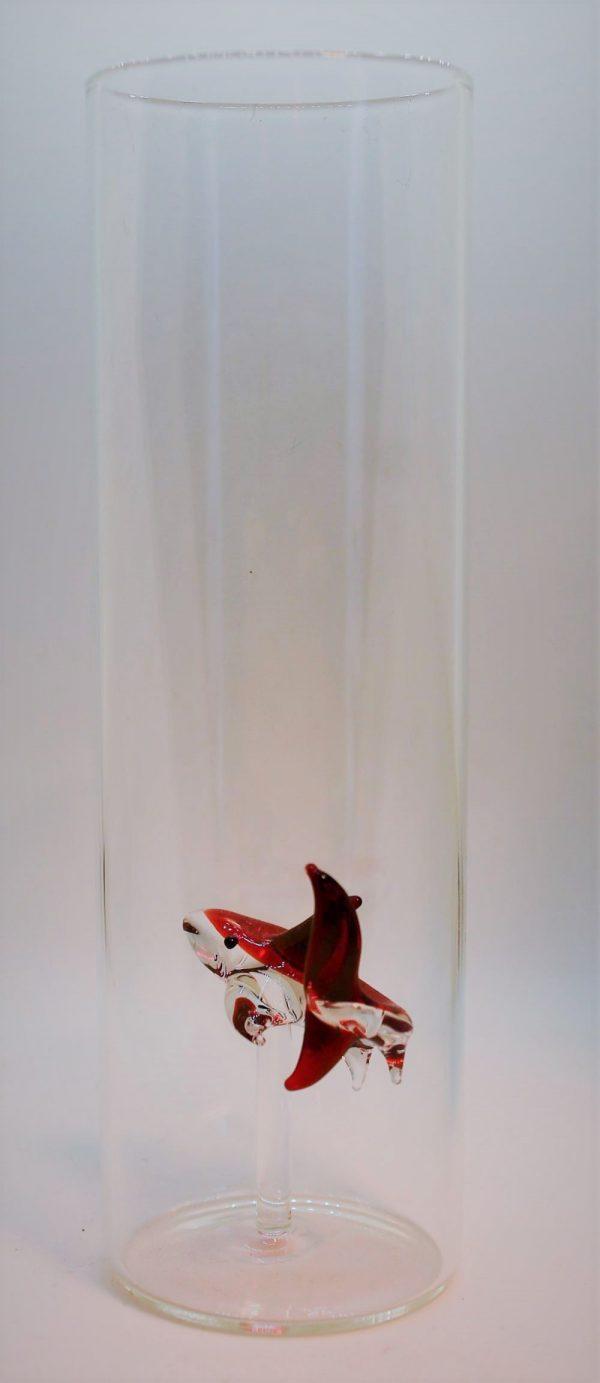 Domglas-Hai-rot-hinten
