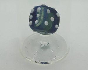 Domglas-Schnapsglas-Wuerfel-blau-detail