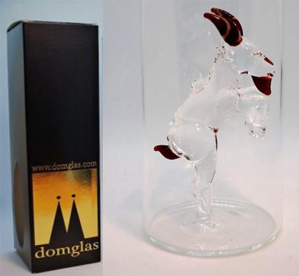 schöne Verpackung mit Geissbock im Glas