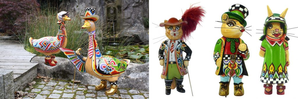bunte Märchenfiguren