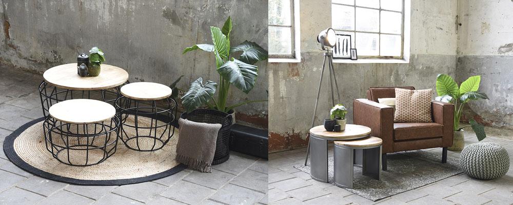 Couchtische auf Teppiche, Couchtisch neben Sessel