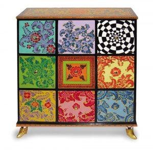 Kommode Drag Cabinet L - Tom's Drag ArtChest of drawers Drag Cabinet L - Tom's Drag Art