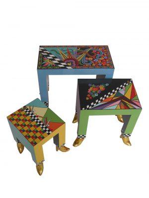 Beistelltische - 3er Set - Tom's Drag ArtSide tables - set of 3 - Tom's Drag Art