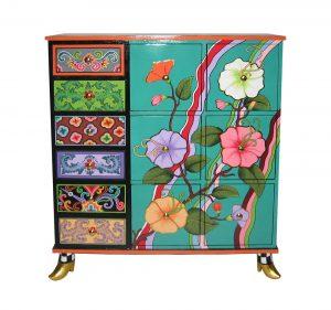 Kommode Tahiti - Tom's Drag ArtChest of drawers Tahiti - Tom's Drag Art