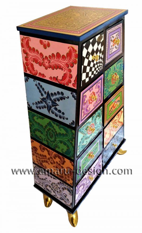 Drag Kommode Jamaica - Tom's Drag ArtChest of drawers Jamaica - Tom's Drag Art