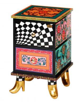 Kommode rot S - Tom's Drag ArtChest of drawer red S - Tom's Drag Art