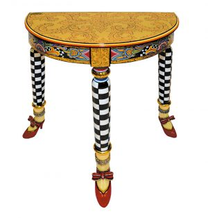 Tisch Versailles halbrund - Tom's Drag ArtSide table Versailles halfround - Tom's Drag Art